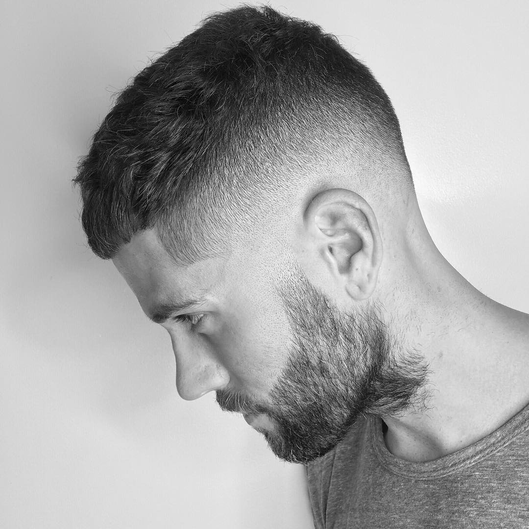 Short Textured Mens Hairstyle
