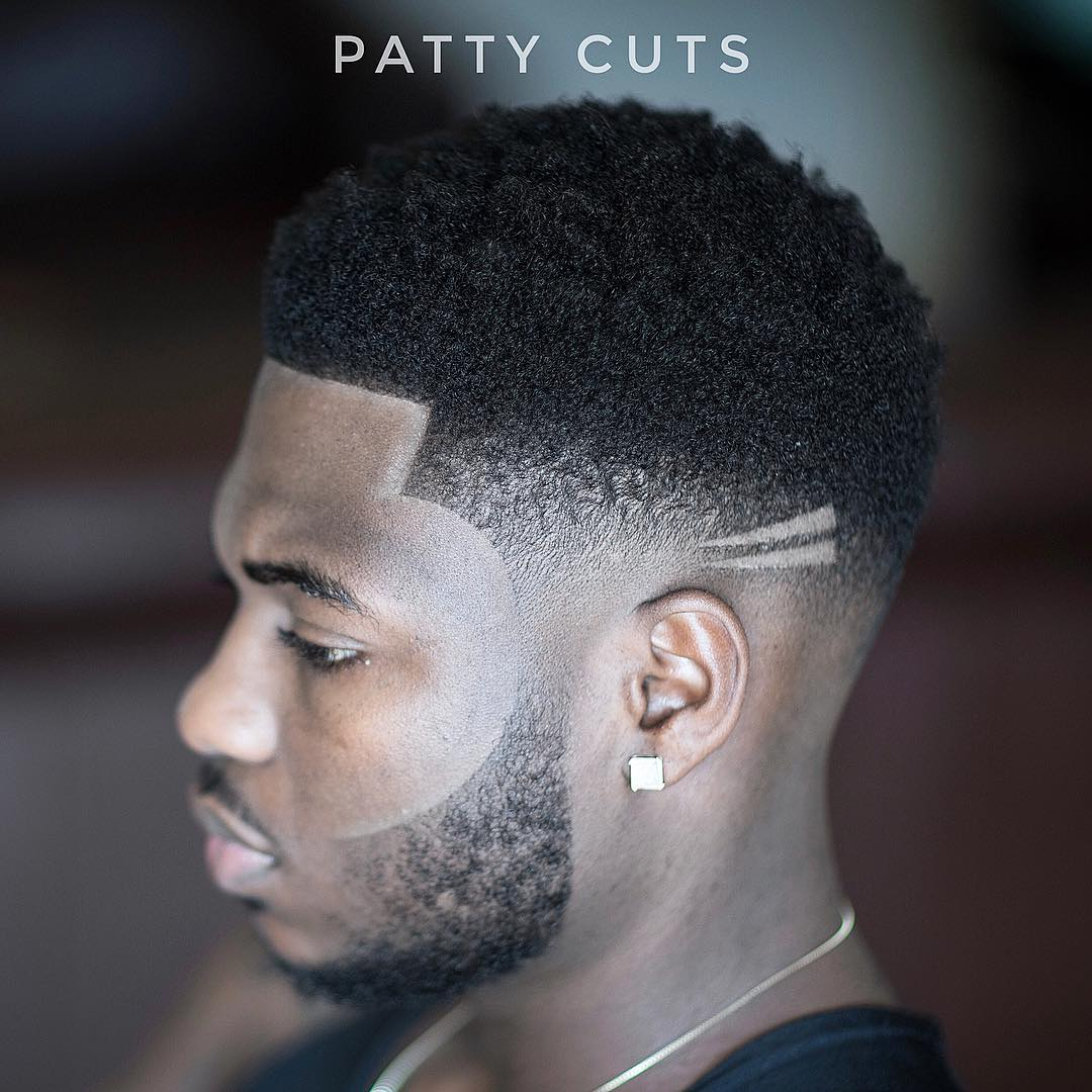 patty_cuts x-ray design mens haircut