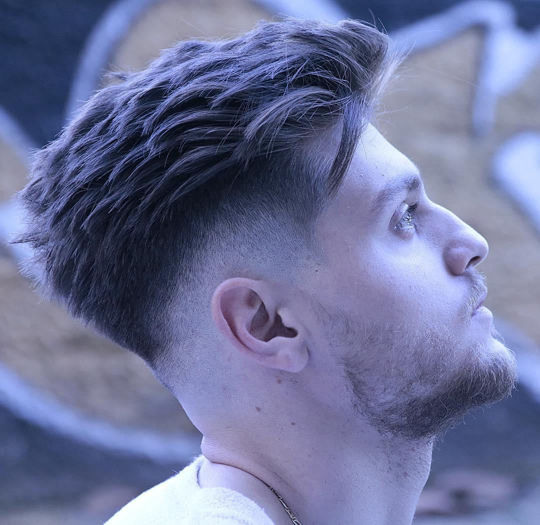 rafa_underground textured spiky mens haircut