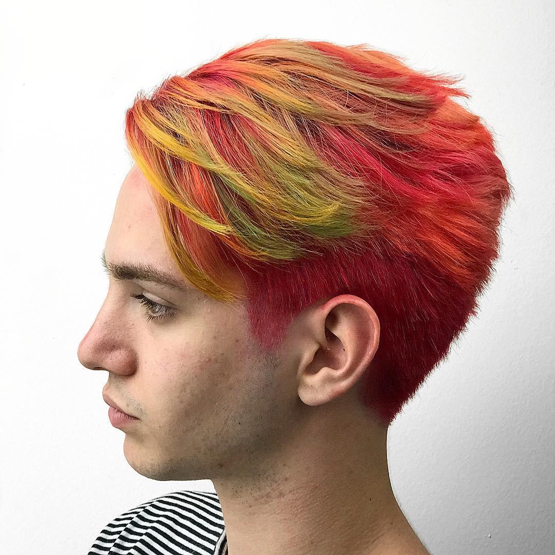 Frizuri cool pentru bărbați în 2018 Frizuri cool pentru bărbați în 2018 shrunknheads taper haircut red hair color men merman