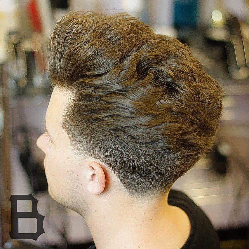 theburghbarber long natural flow haircut for men