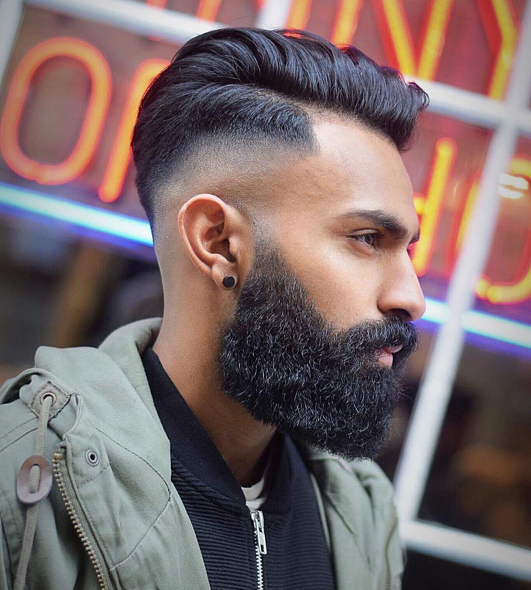 toastiestyles high skin fade haircut side part