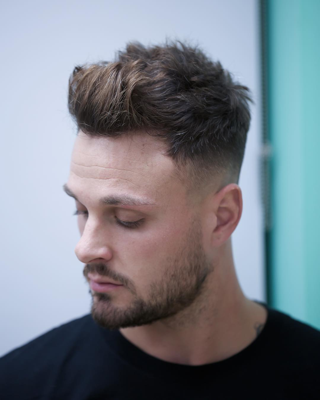 tombaxter_hair cool quiff haircut for men
