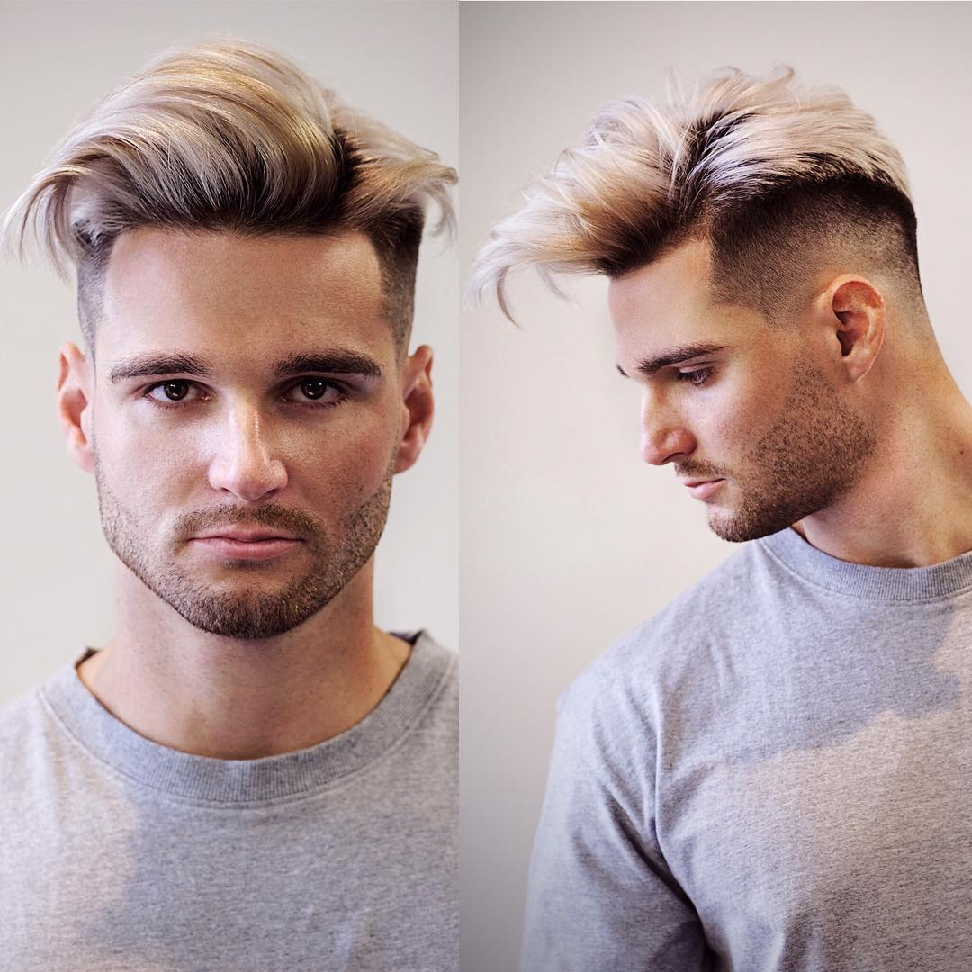 tombaxter_hair long fringe mid fade haircut for men