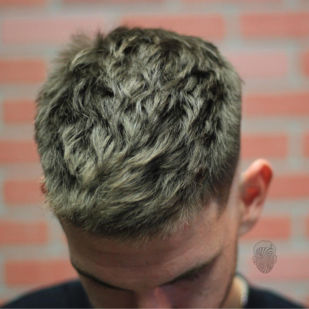 travisanthonyhair textured short haircut for men