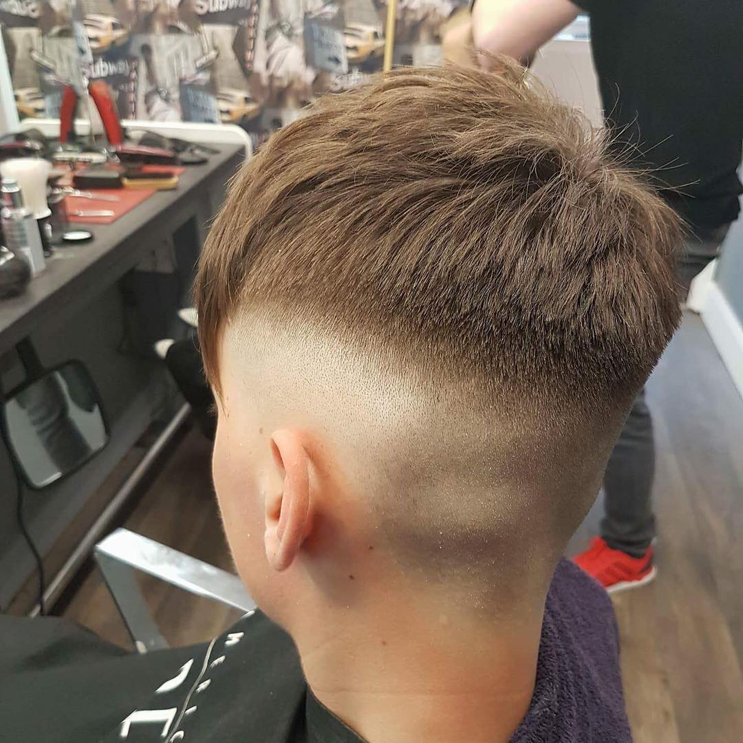 cool haircuts with shaved sides