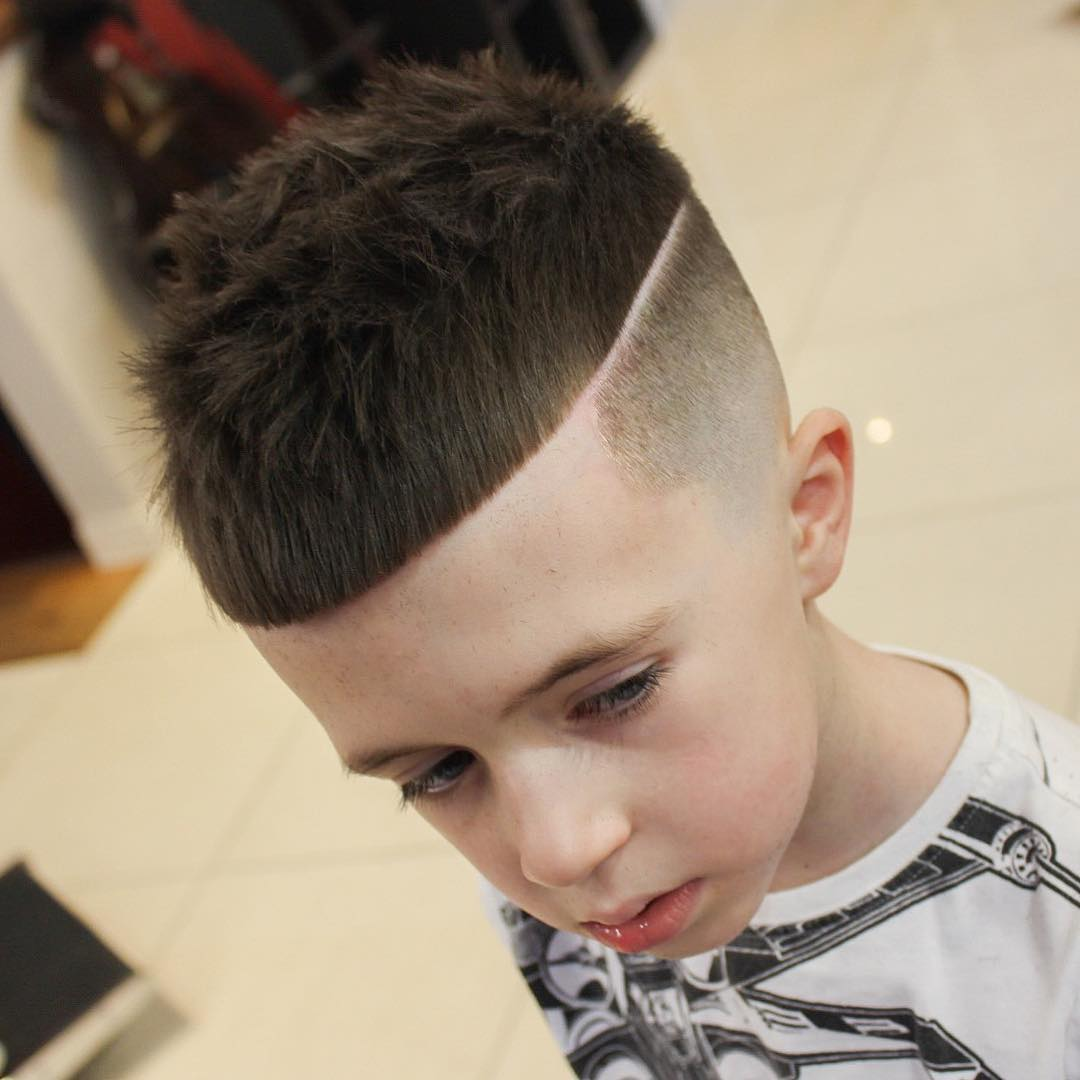 Bald Fade Haircut Kids 44