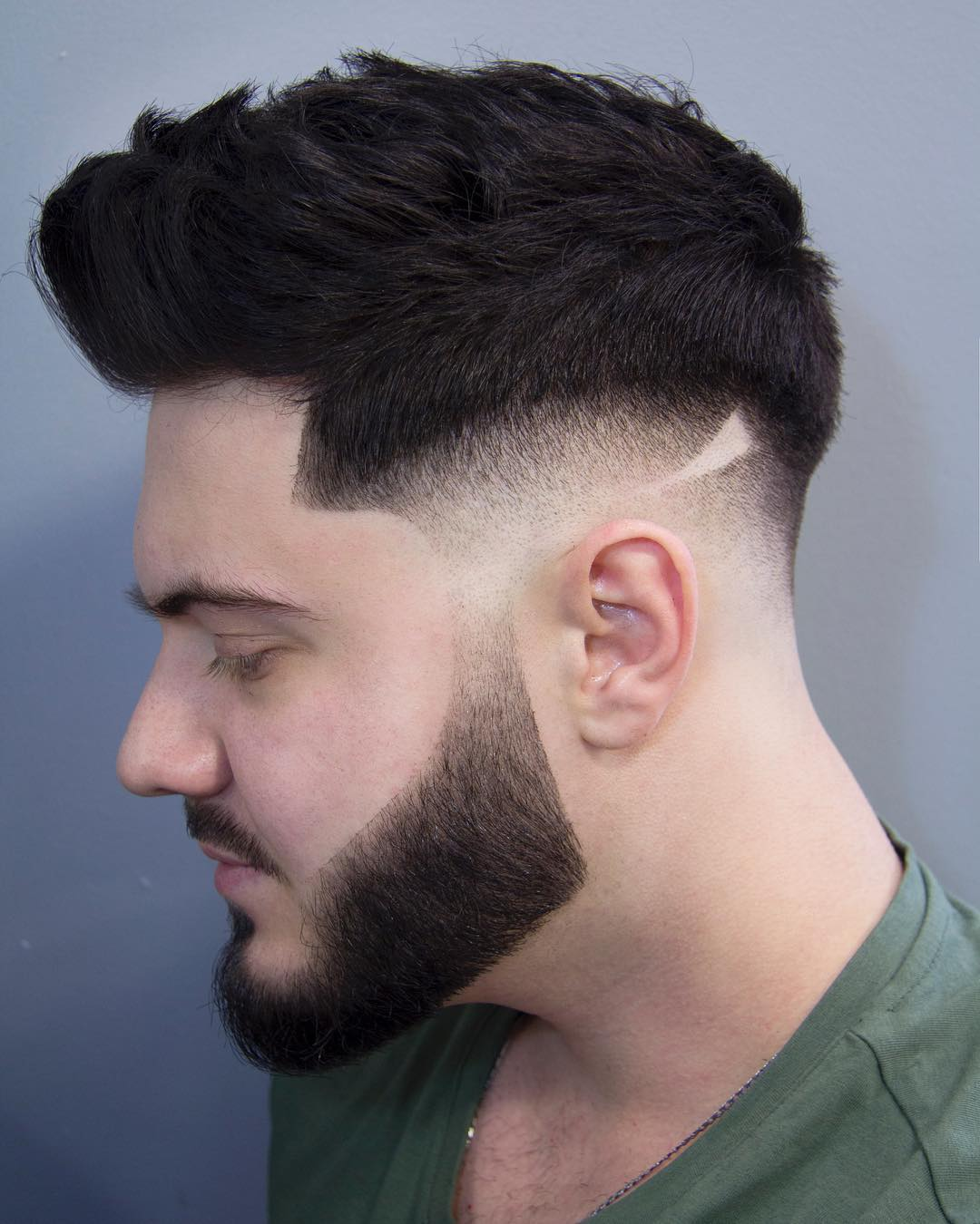 Fantastic Hair sides shaved mens