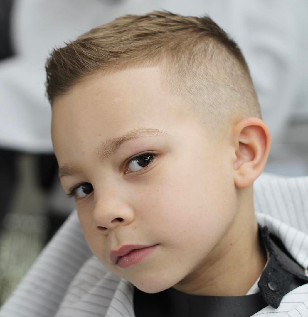 Fade Haircut For Toddlers