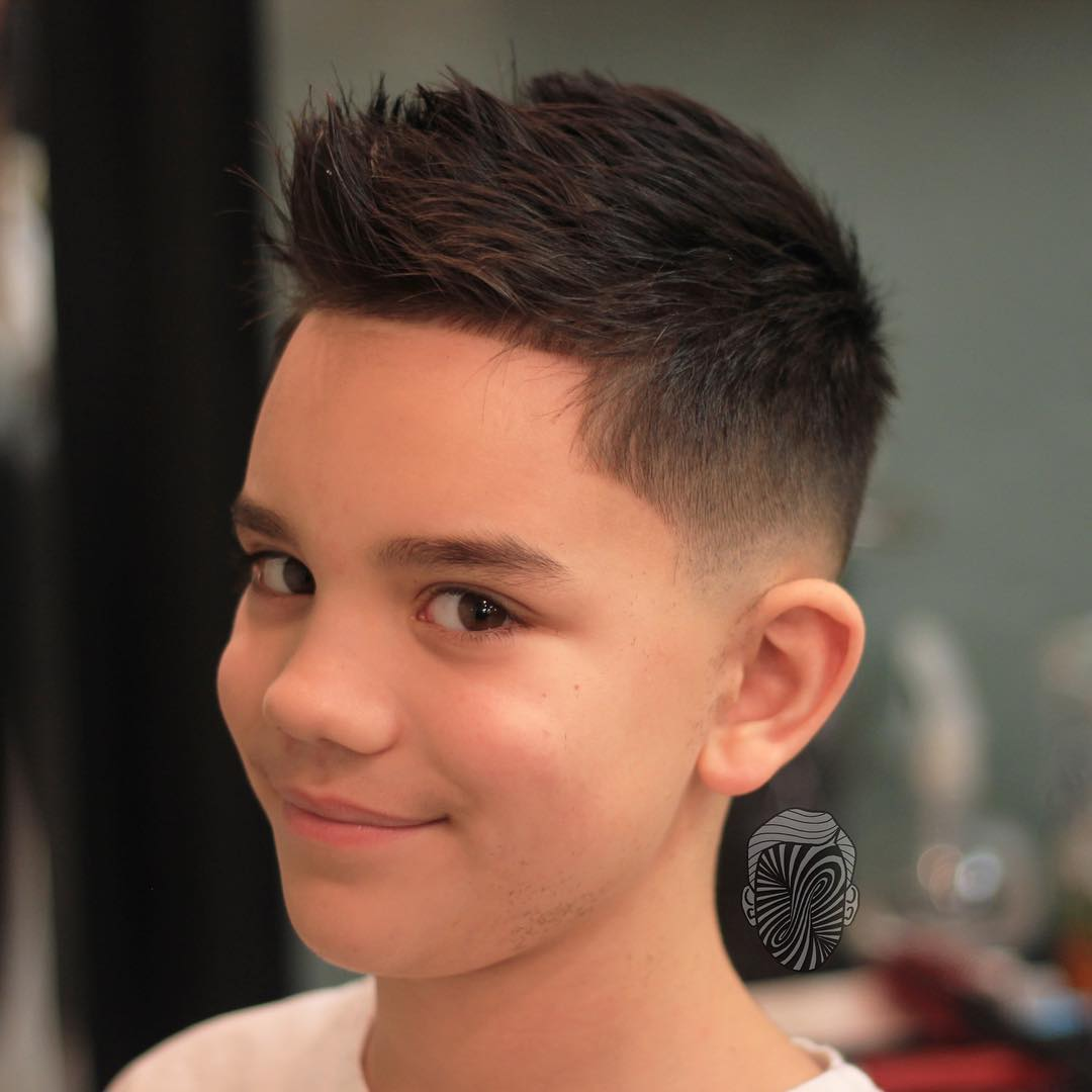 Low Fade Haircut Little Boy Haircuts Models Ideas