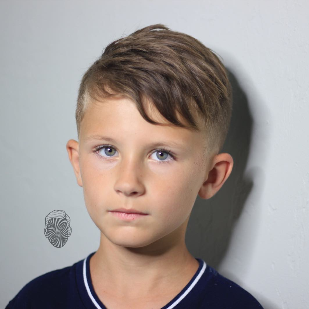 Boys Haircuts 14 Cool Hairstyles For Boys With Short Or: Boys Fade Haircuts