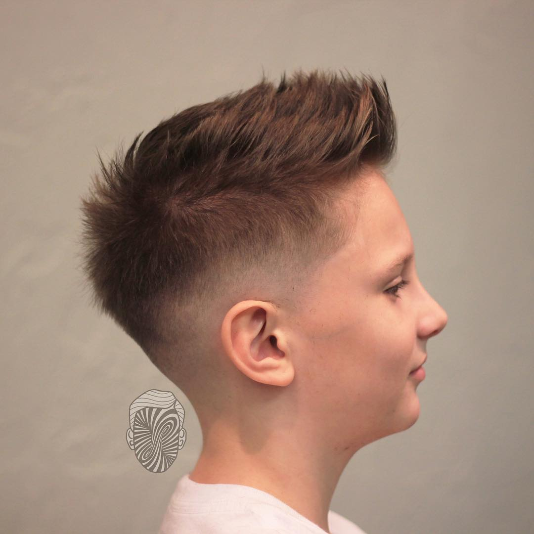 Boy Fade Haircut Pictures Haircuts Models Ideas