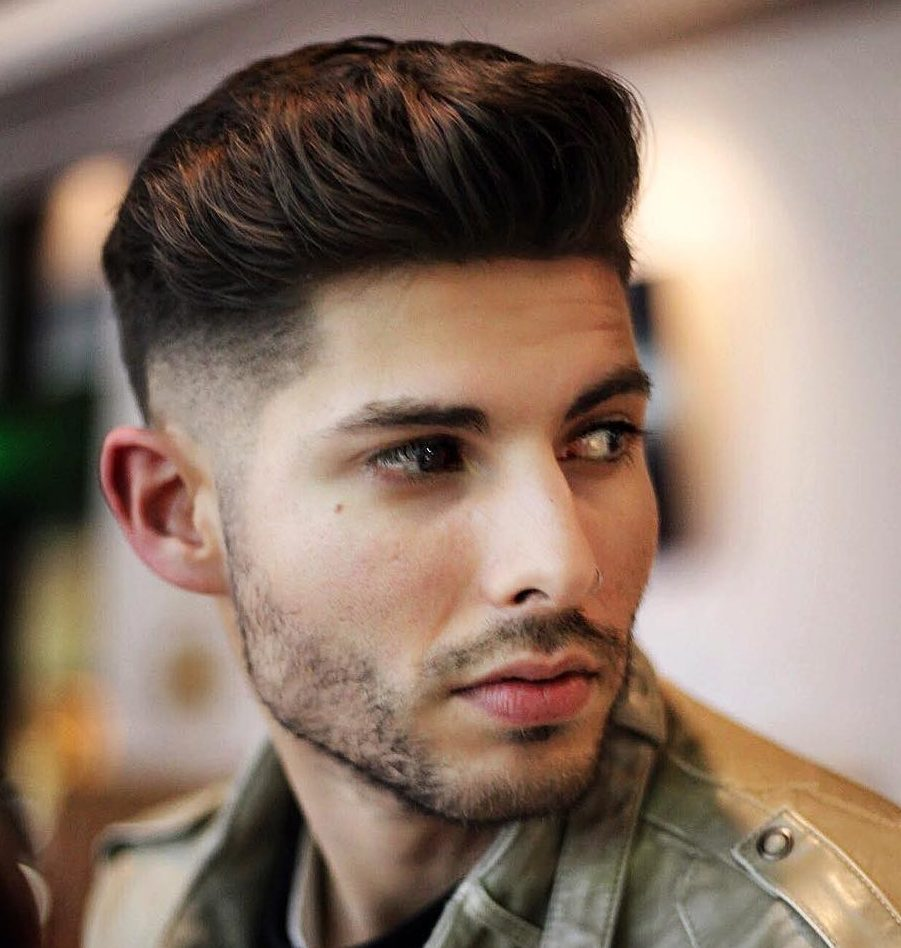 anthonythebarber916 low fade haircut medium length natural flow mens hairstyle