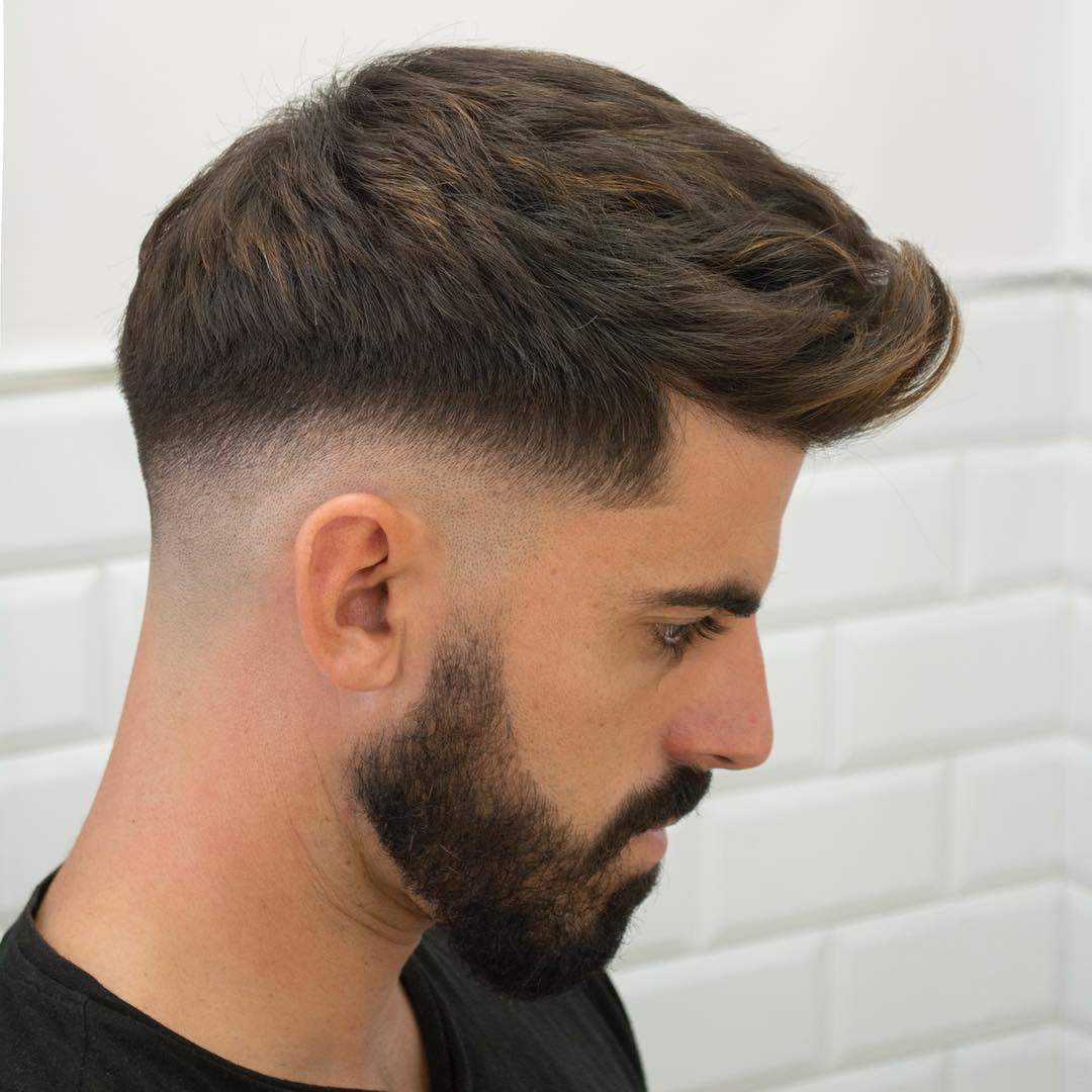 Types Of Fade Haircuts Mens Hairstyle Trends