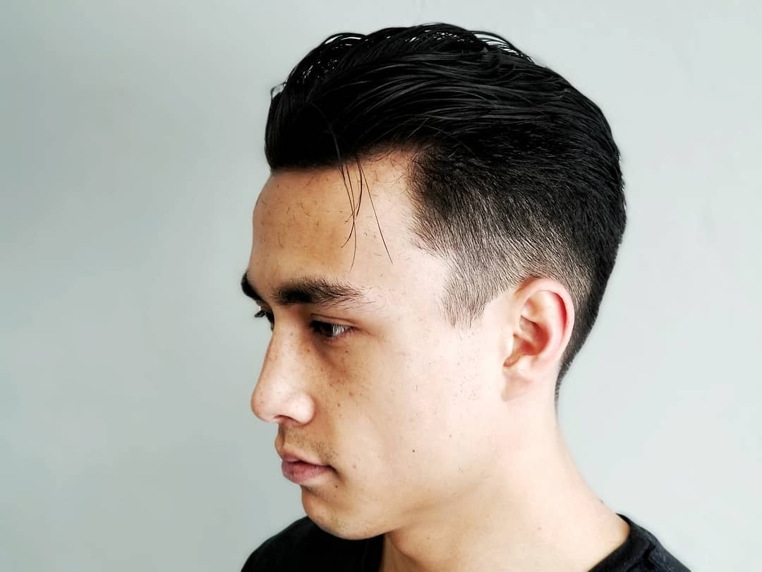 Messy Haircut + Low Fade