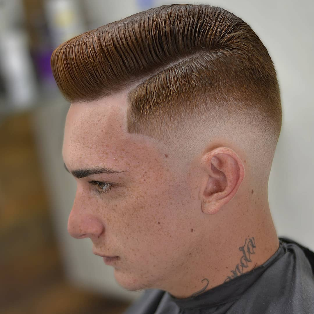 Side Part Flat-Top
