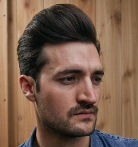 The Pompadour Haircut