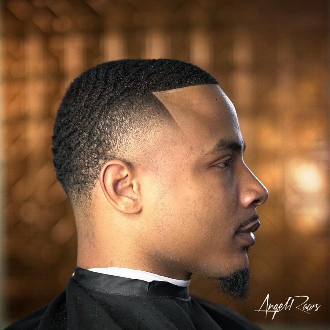 Waves haircut fade