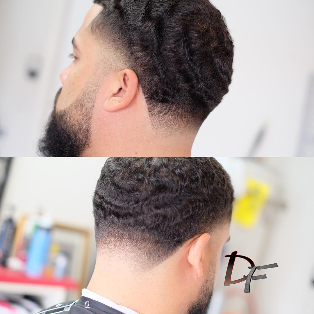 Waves haircuts - curly hair