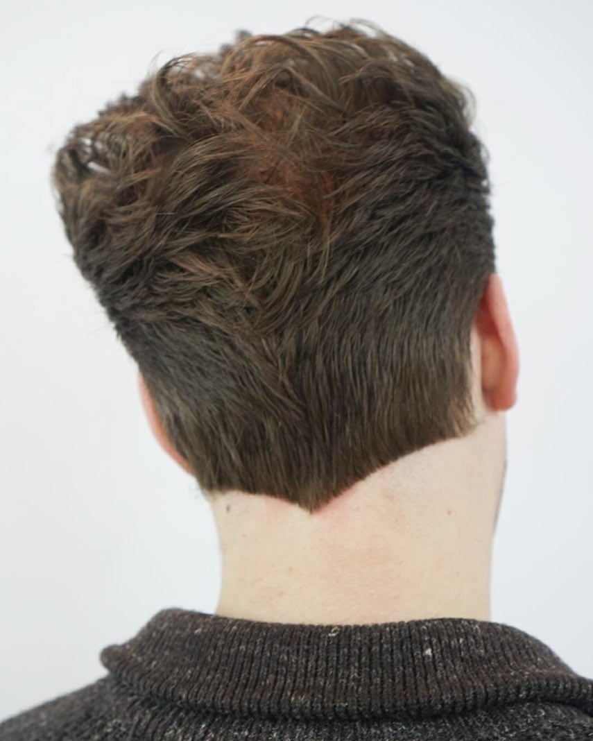 V-Shaped Hairline For Men