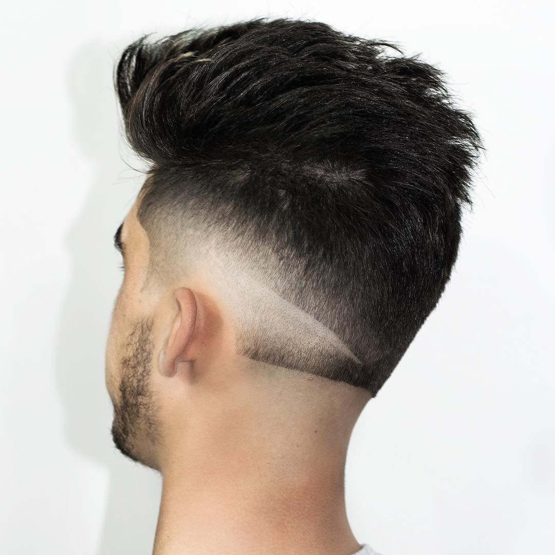 Double Fade Hair Design