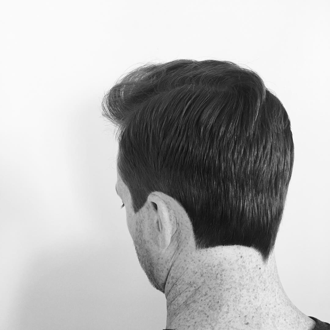 Asymmetrical Neckline Hair Design