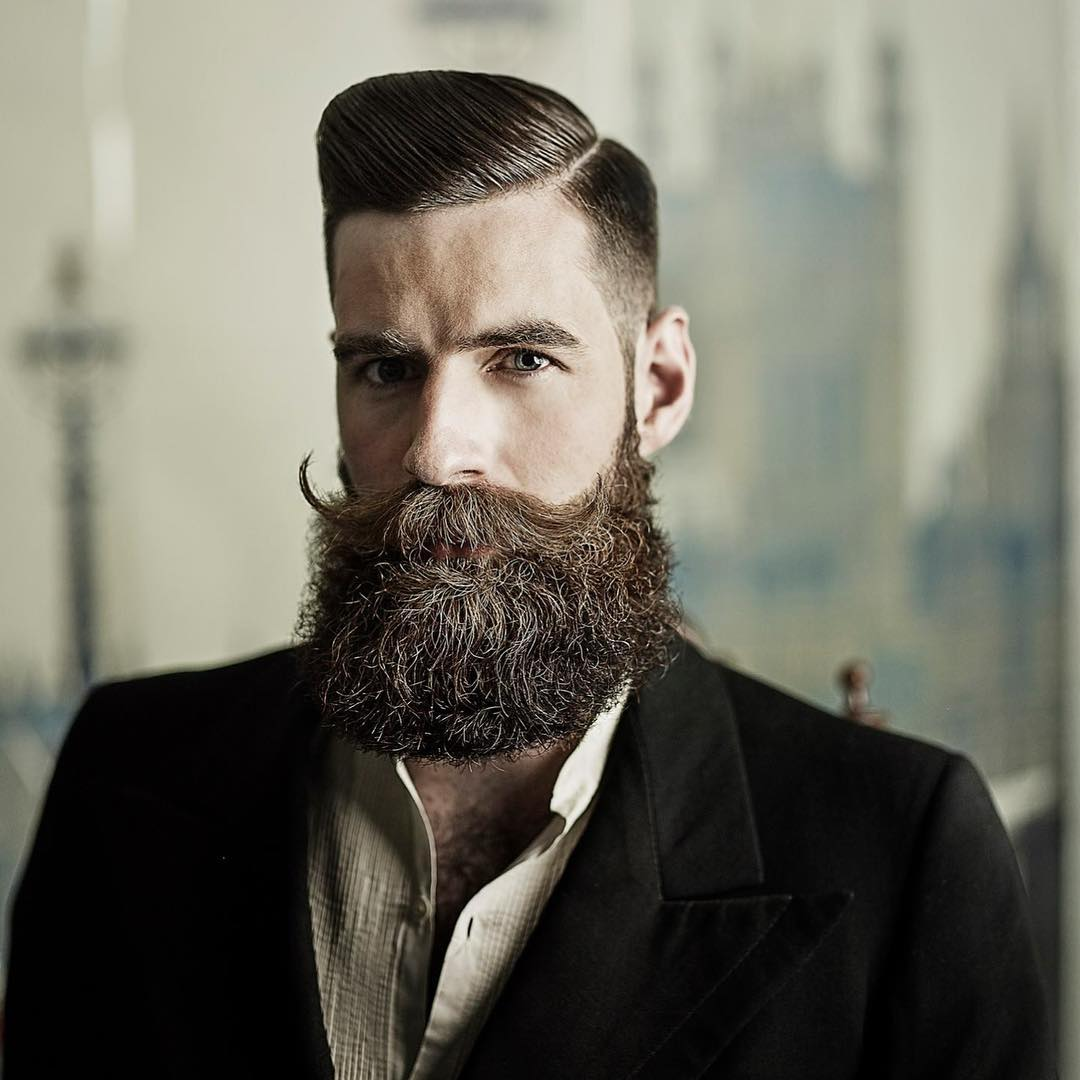 beard hair style the gentleman haircut 9009