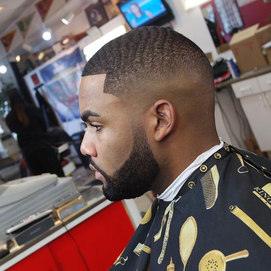 Drop Fade Waves Haircut With Part 59