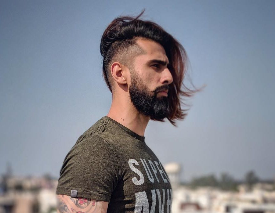 3798372f42c The Best Men s Hairstyles For Long Hair To Try In 2018