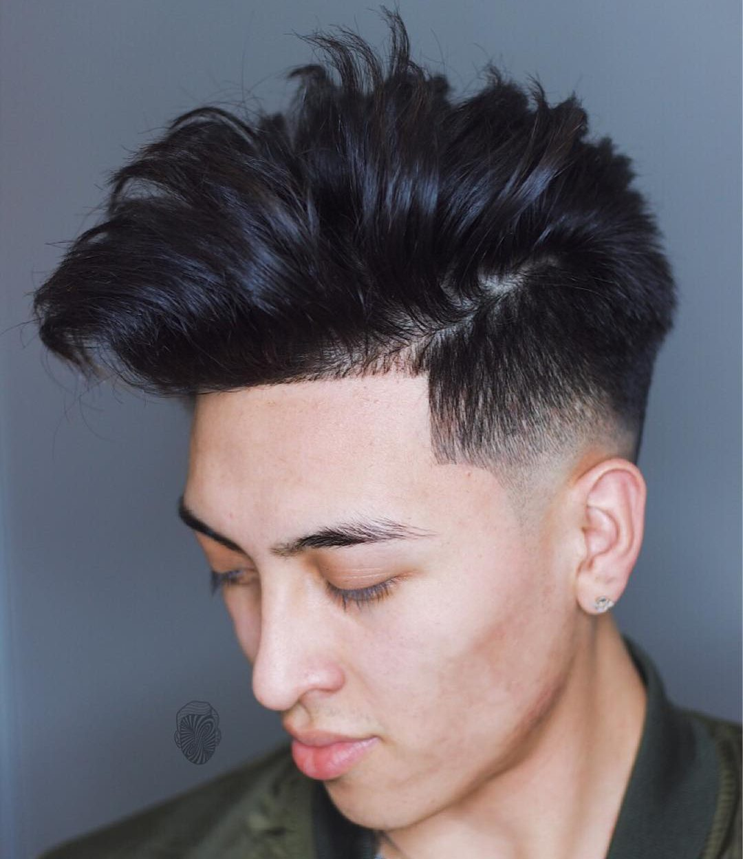 Asian mohawk hairstyle