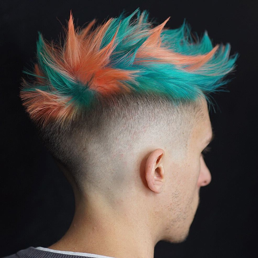 Modern Faux hawk hairstyle