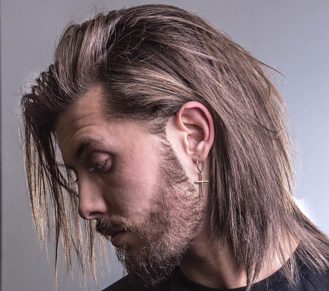 25 Long Hair Hairstyles Haircuts For Men 2020 Styles