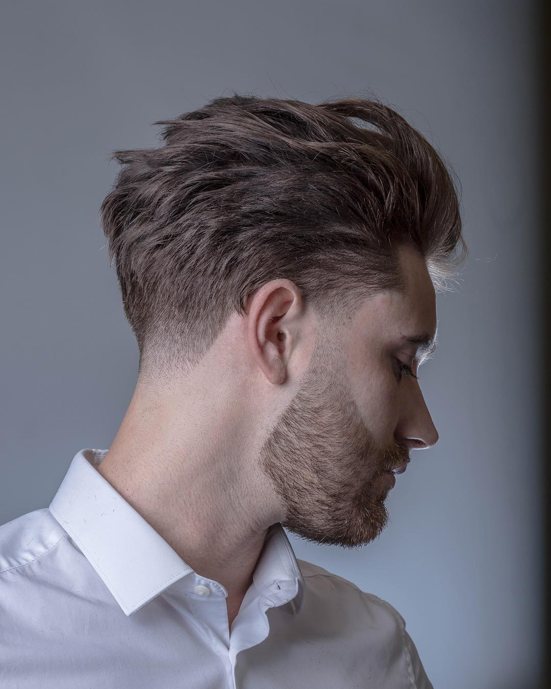 Taper haircut for men