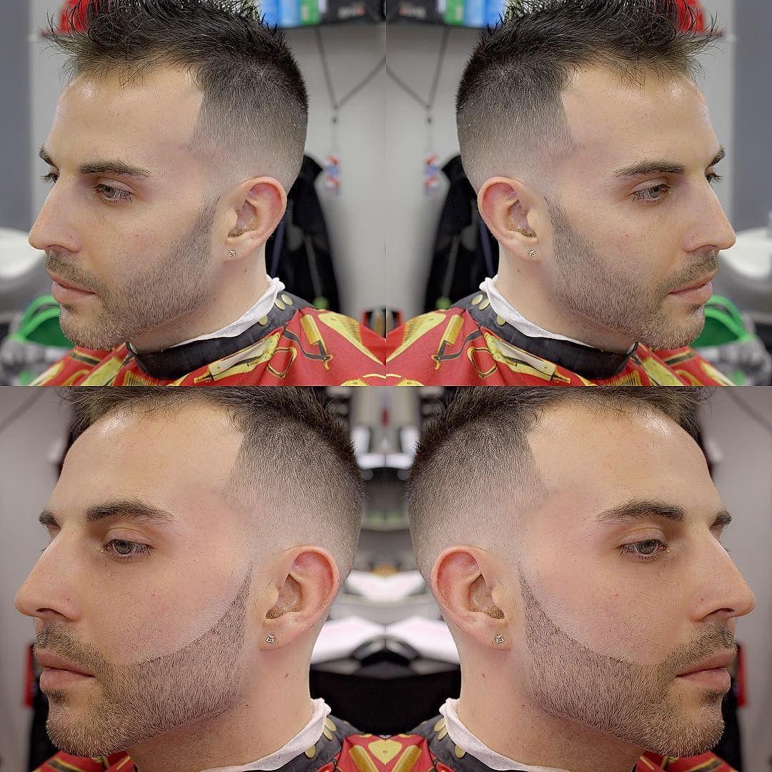 Faux-hawk haircuts for men with thin hair