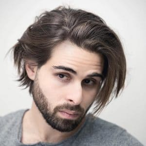how to grow out hair men