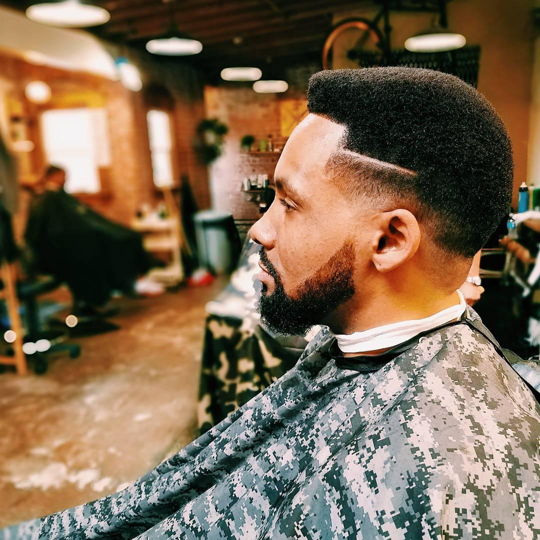 Short Afro For Black Men