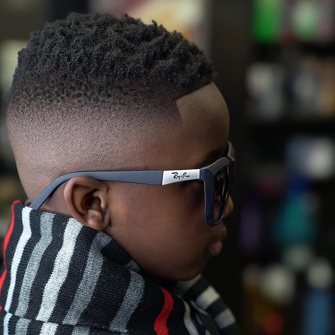 Fade Haircut For Black Boys