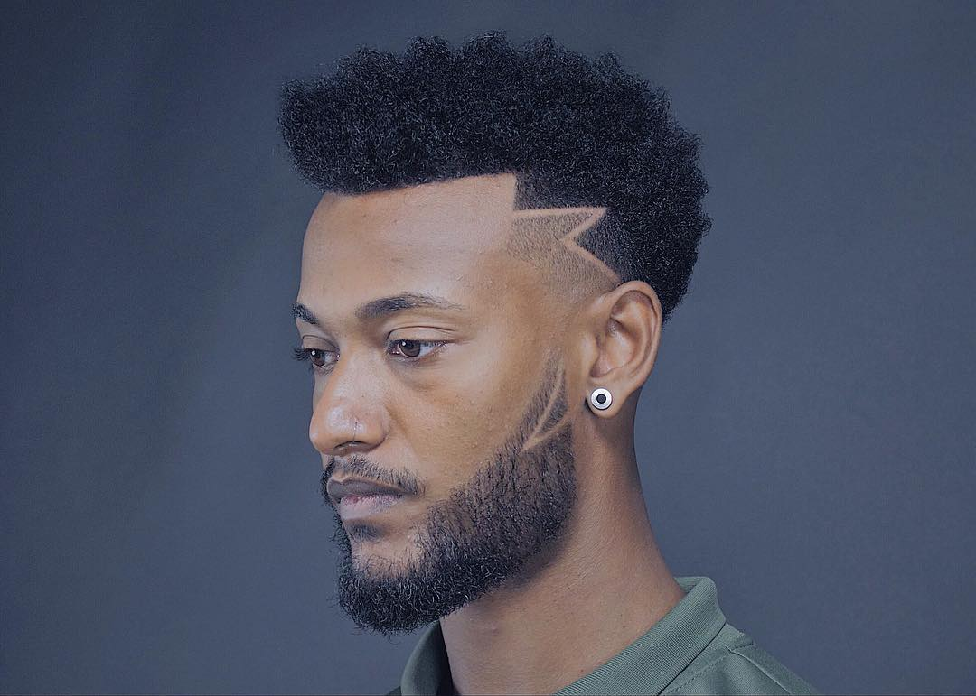 11 Hairstyles & Haircuts For Black Men -> New Styles September 11