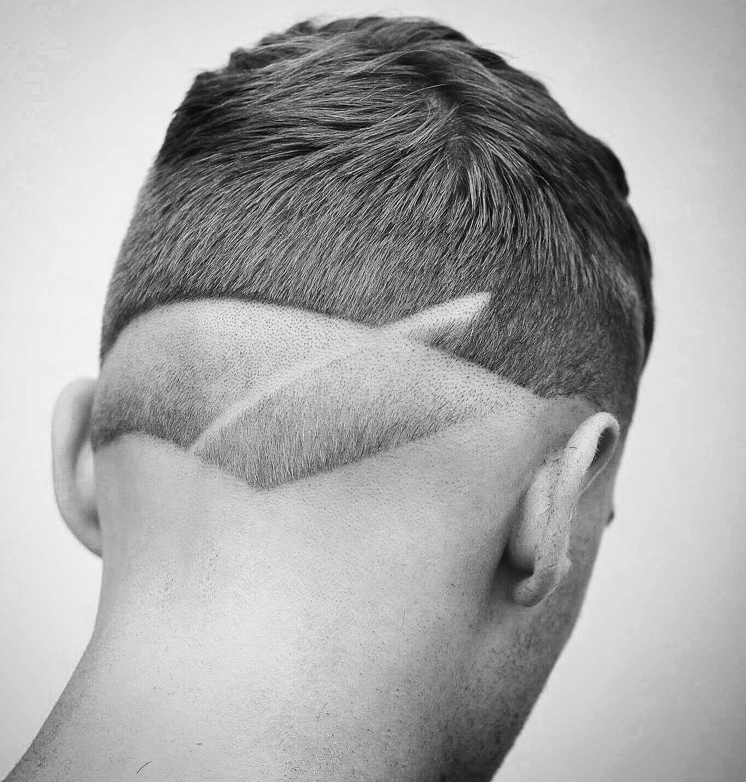 barber.josh.o.p cool neck design mens haircut