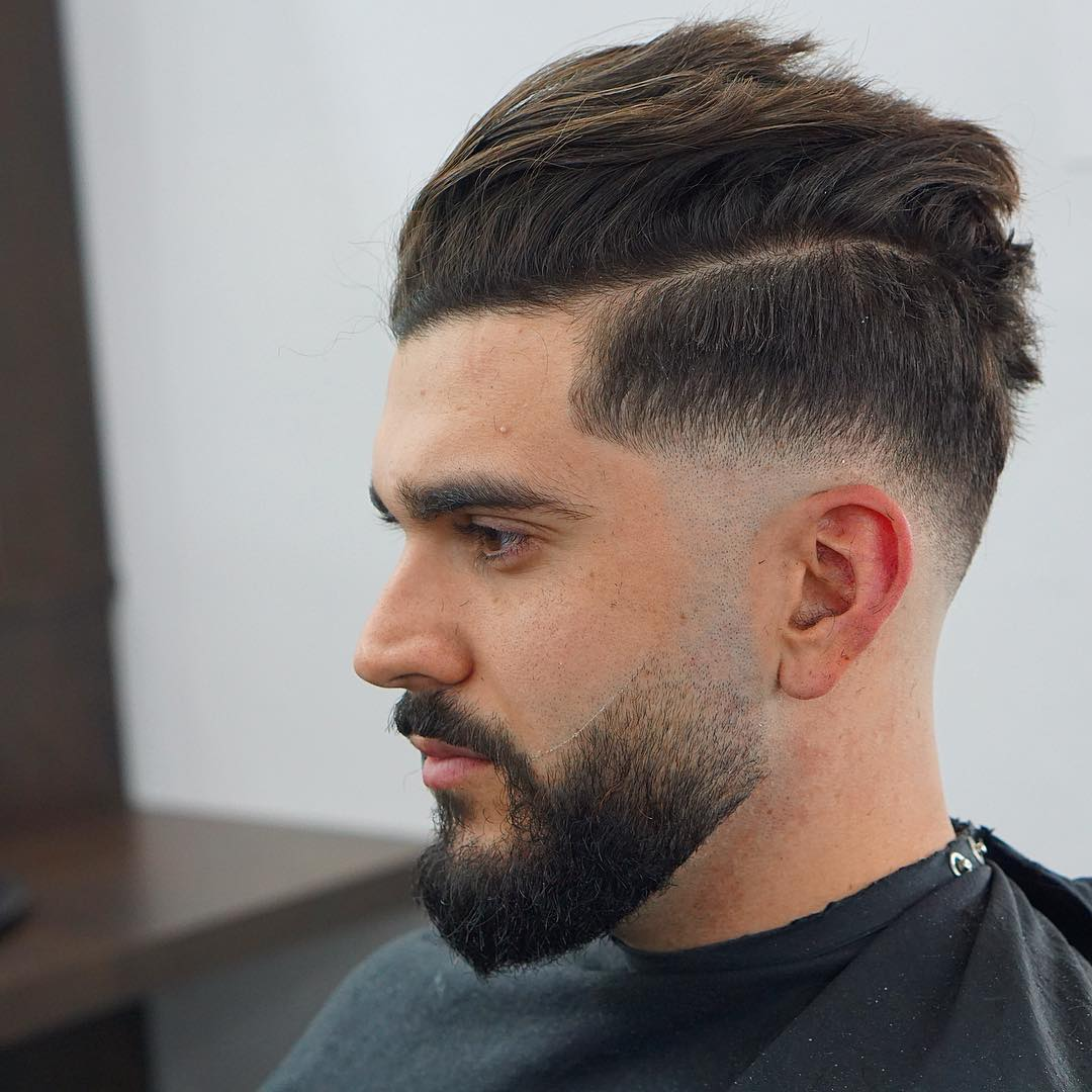 Mens Hairstyle Medium Length: Medium Length Haircuts For Men (2018 Update