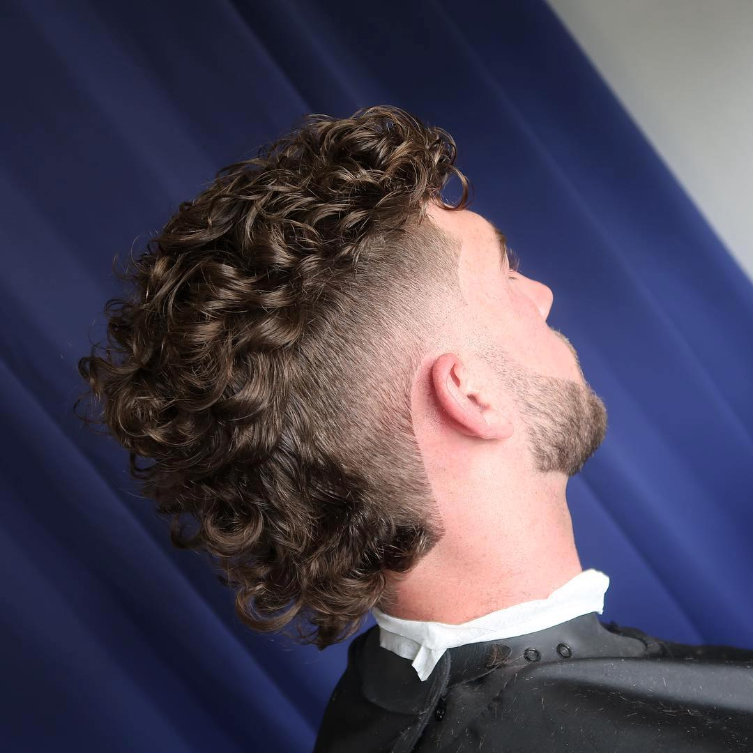 cutsbywatts curly hairstyle for men mohawk fade