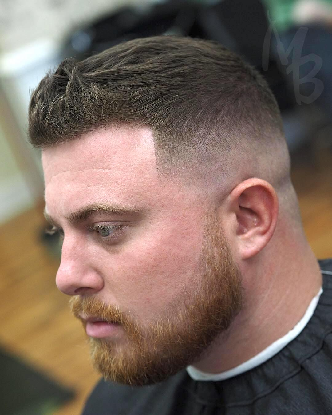 hairbymikebernstein low fade short mens haircut quiff