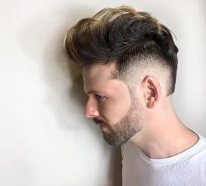 kristenmichellehair cool medium length mens haircut