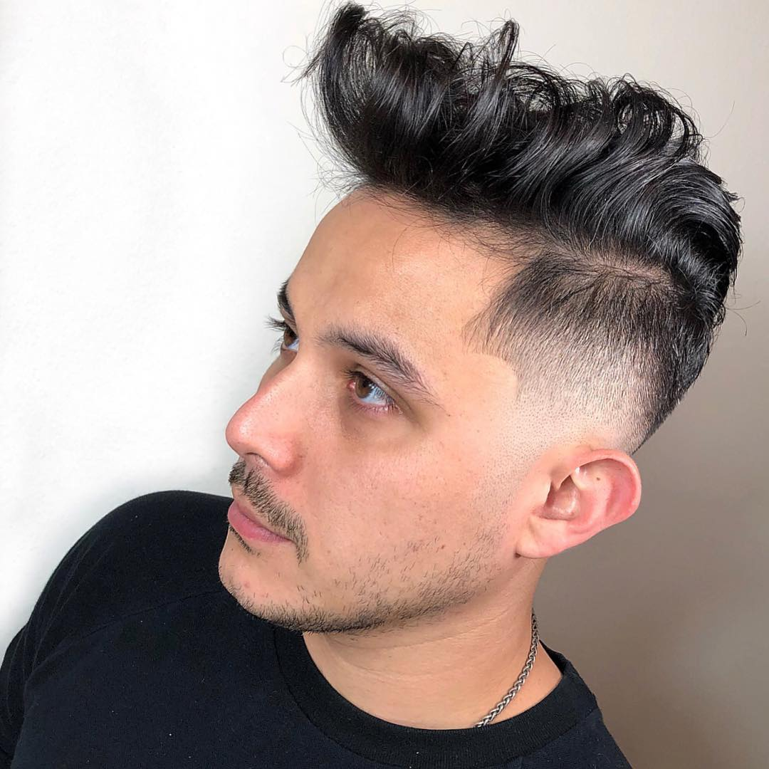luiiisc_ medium length haircuts for men high fade