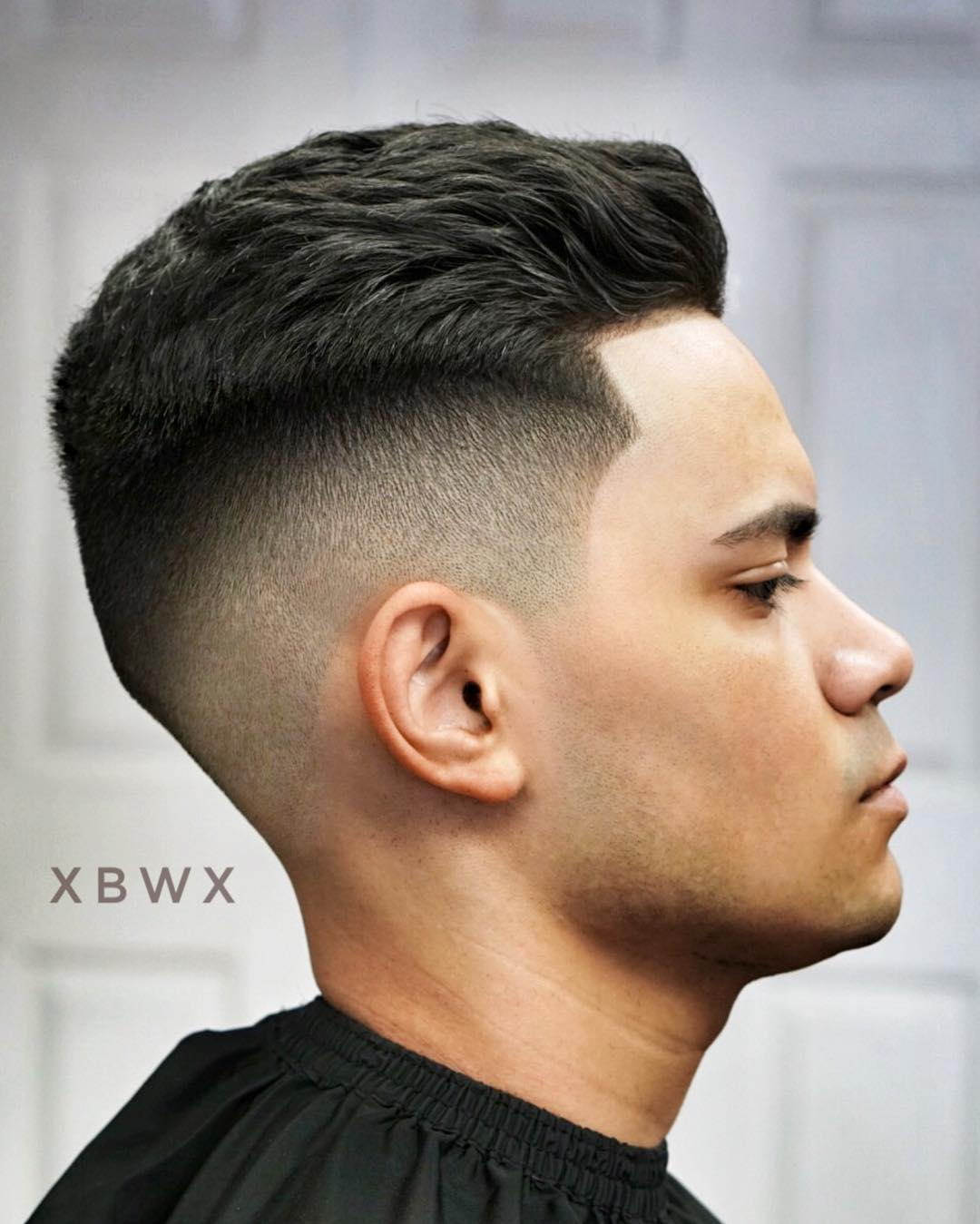 xbigwesx classic mens haircu slicked back