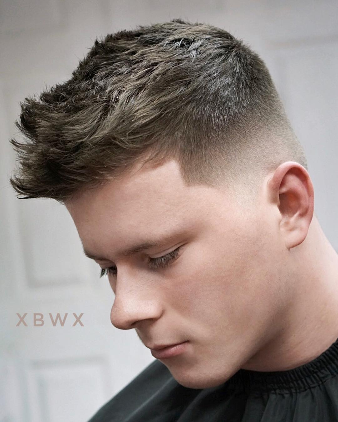 modern classic short haircut for men