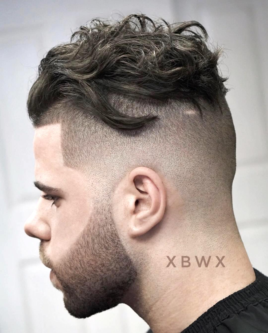 xbigwesx cool undercut hairstyle for men with thick hair