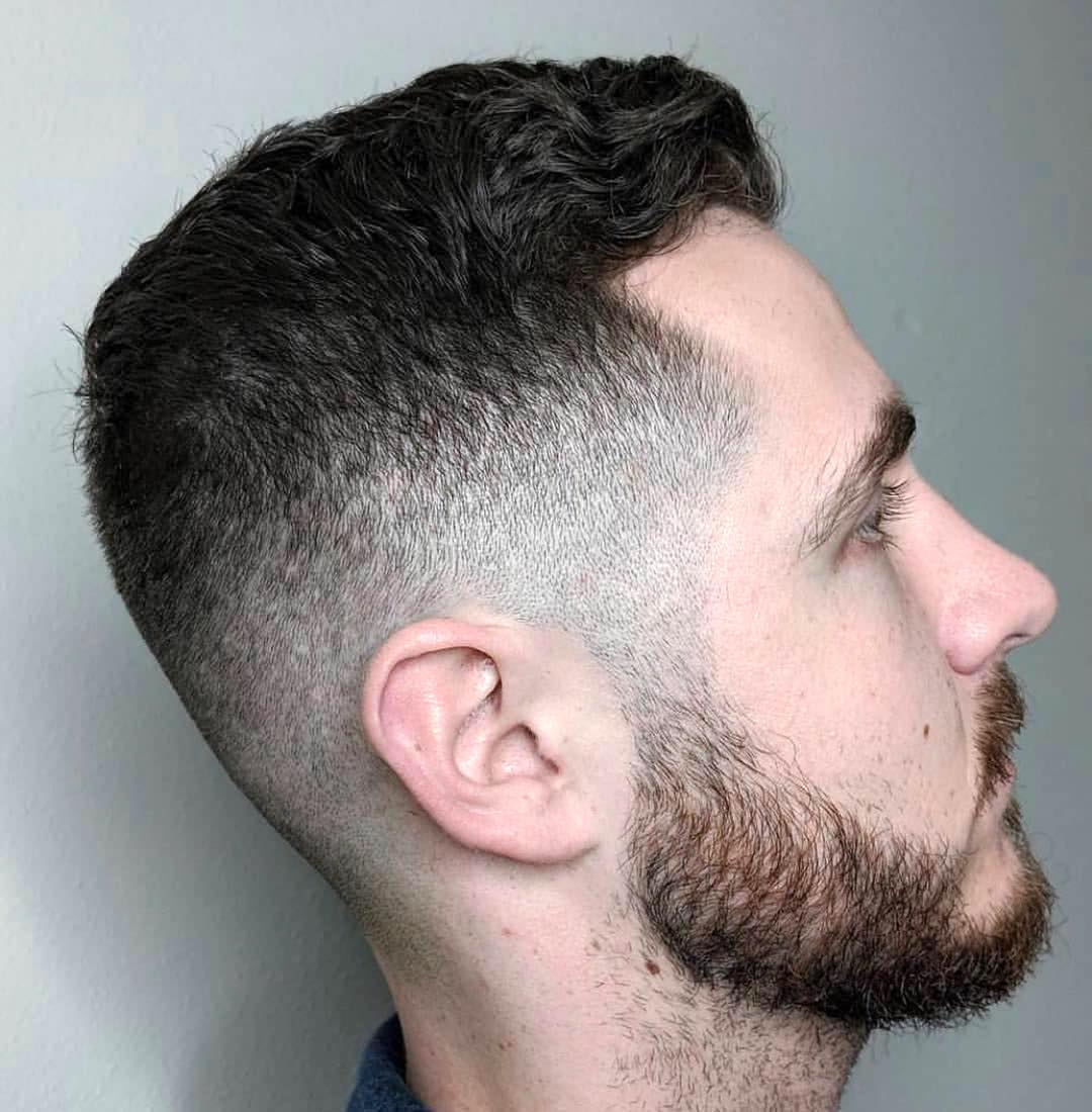 ychromebarbering short haircut for thick wavy hair men