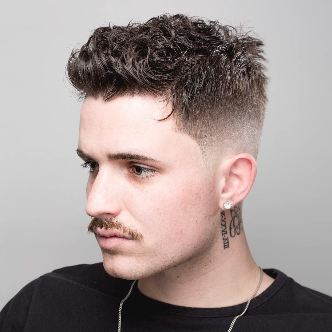 Good Haircuts For Curly Hair Men