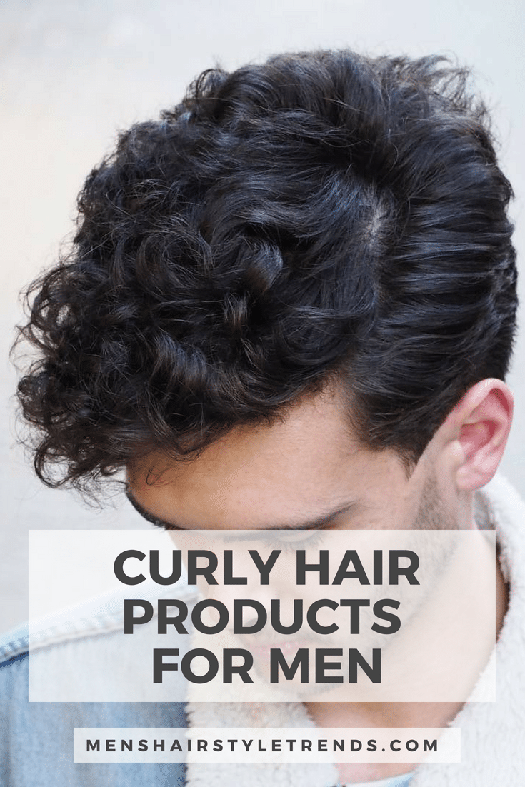 Best Products for Curly Hair - Men